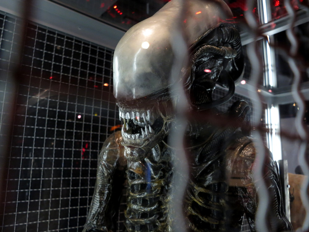 Alien Xenomorph, EMP Museum Seattle - Double-Barrelled Travel