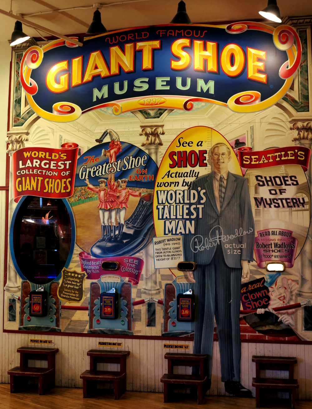 Giant shoe museum at Pike Place Market in Seattle Double-Barrelled Travel