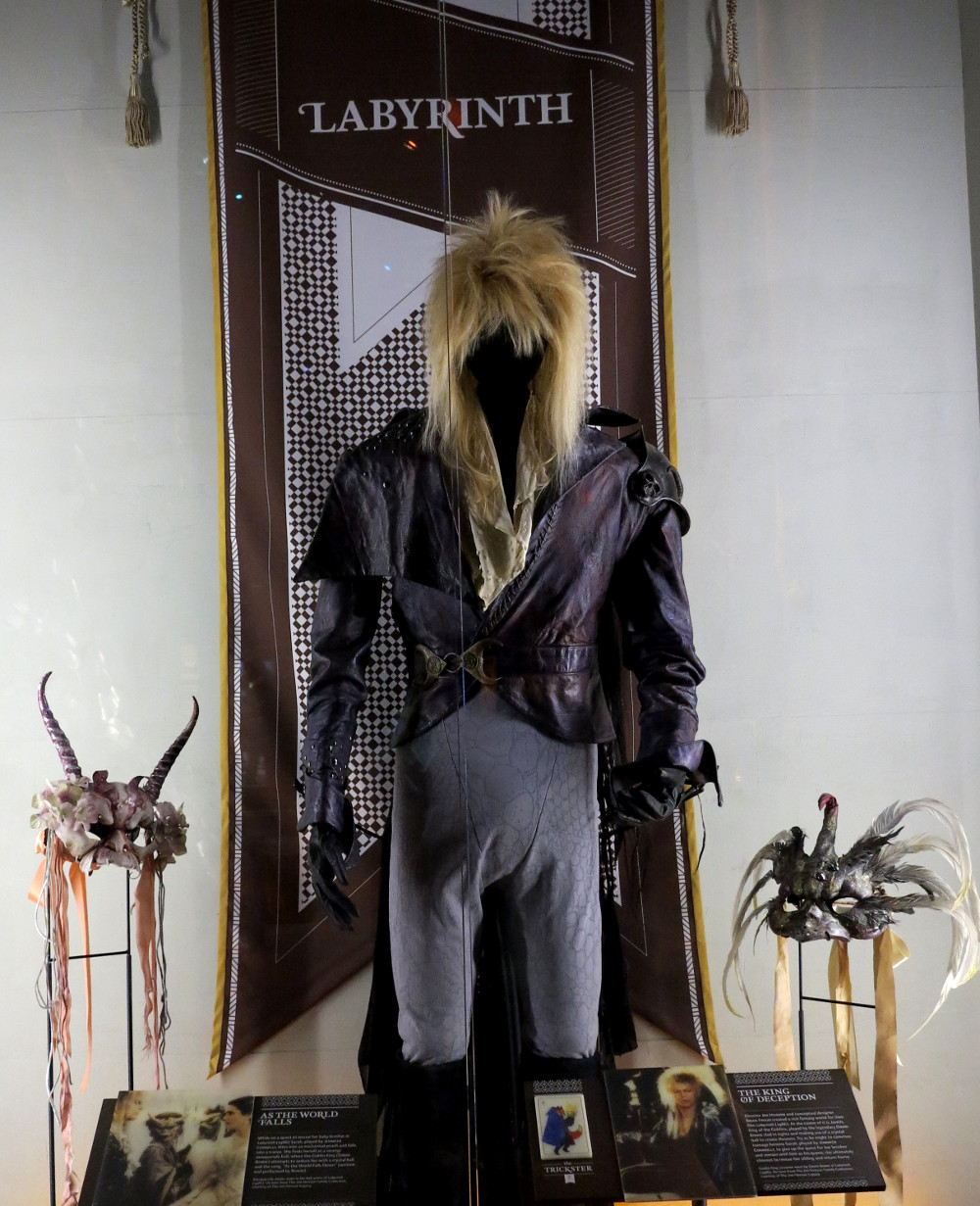 Jareth the Goblin King, EMP Museum Seattle, Double-Barrelled Travel