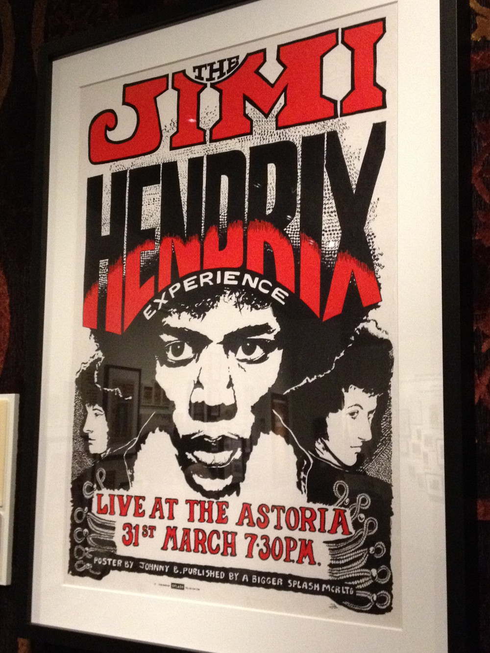 Hendrix Hits London, EMP Museum - Double-Barrelled Travel