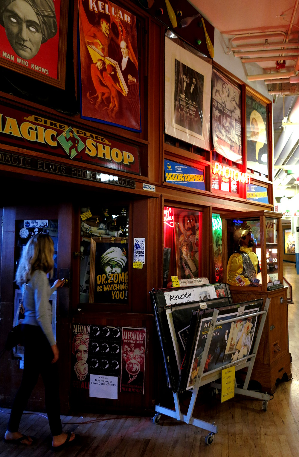 Magic shop at Pike Place Market in Seattle Double-Barrelled Travel