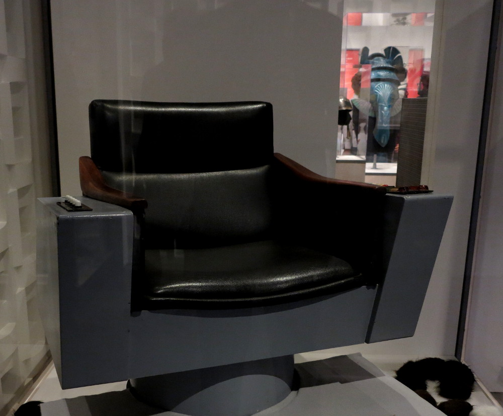 Star Trek Captain Kirk's chair - EMP Museum Seatle, Double-Barrelled Travel