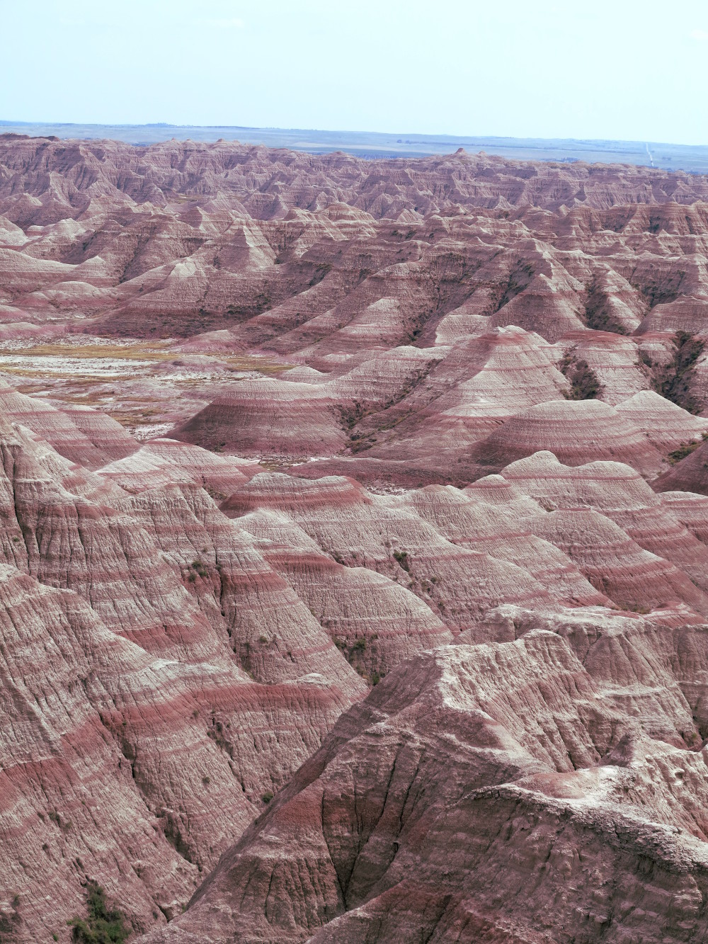 The beautiful scenery of the Badlands Double-Barrelledtravel