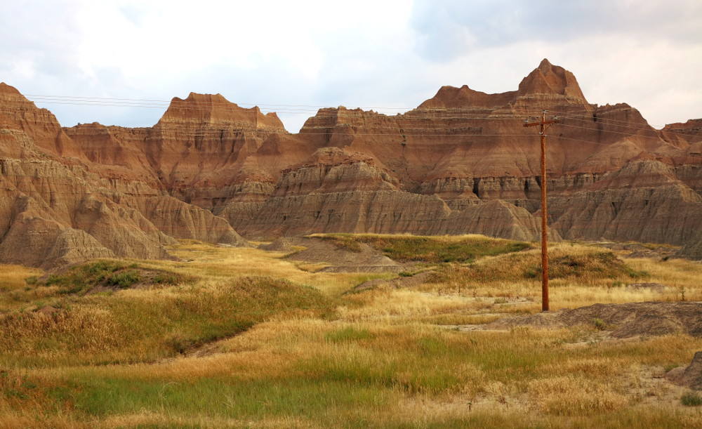 View of the Badlands South Dakota Double-Barrelledtravel