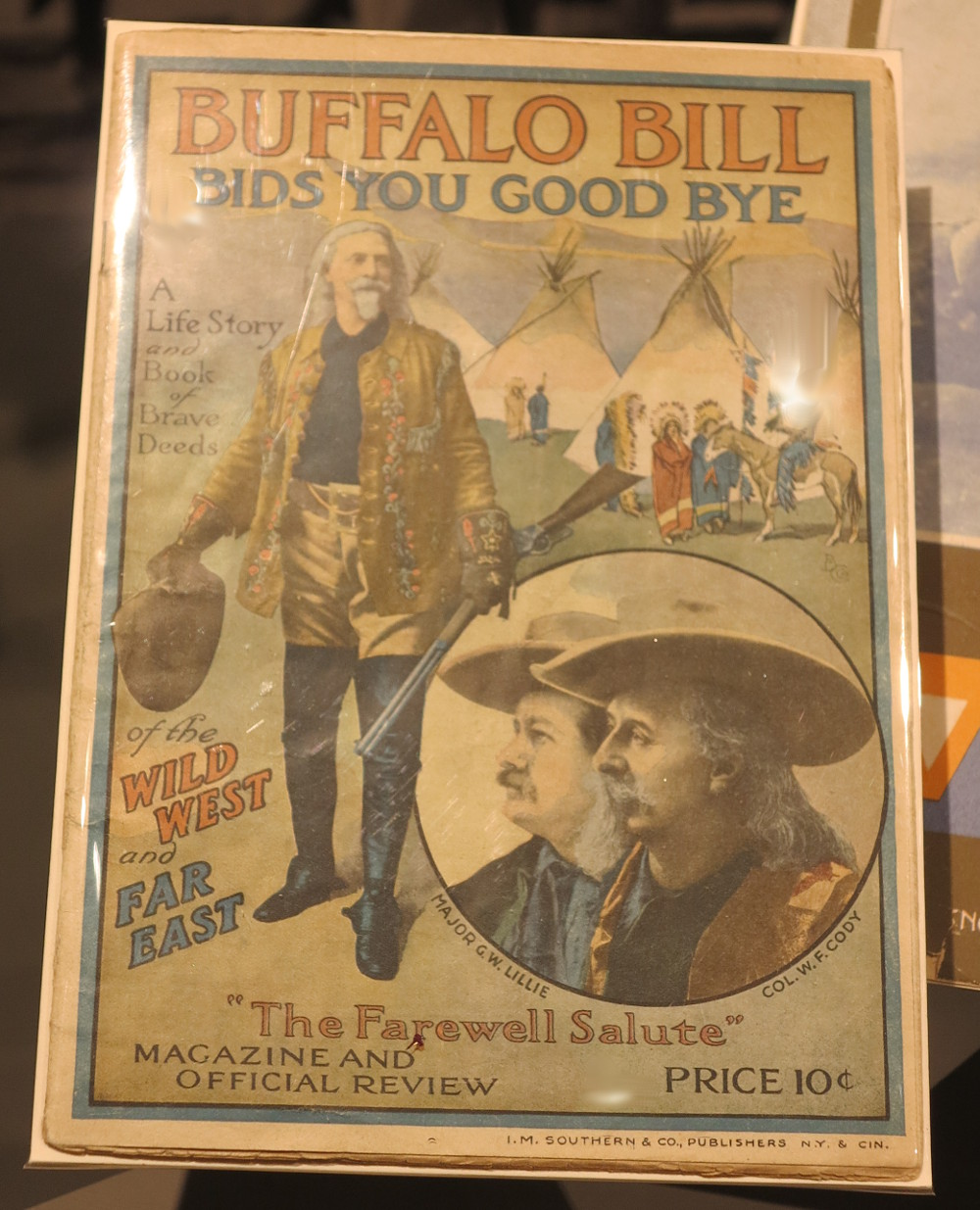 Buffalo Bill bids you goodbye poster Double-Barrelled Travel