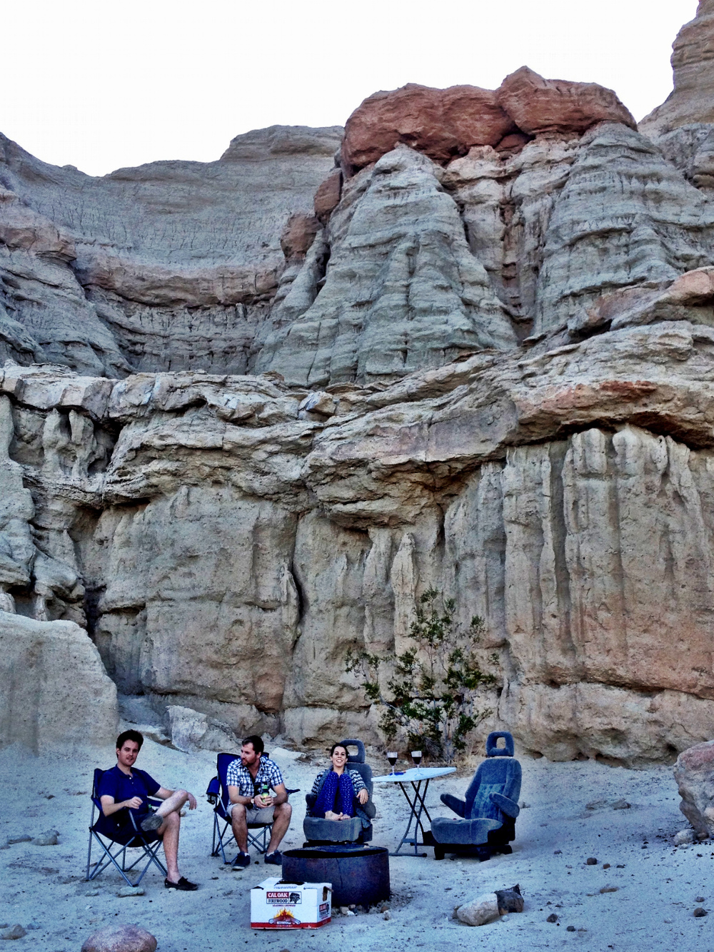 Camping at Red Rock Canyon Double-Barrelled Travel