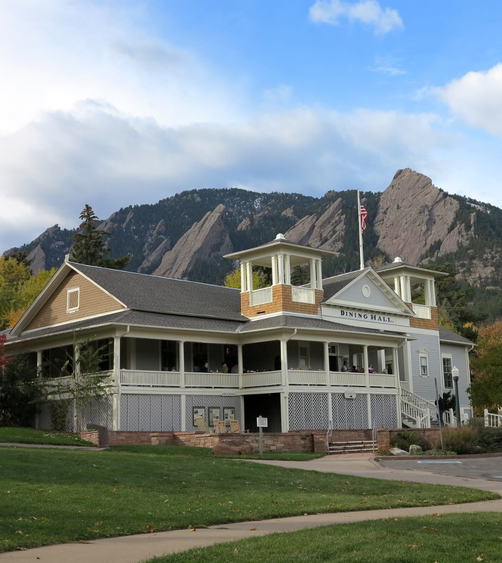 Dining Hall restaurant at the Chautauqua in Boulder Double-Barrelled Travel