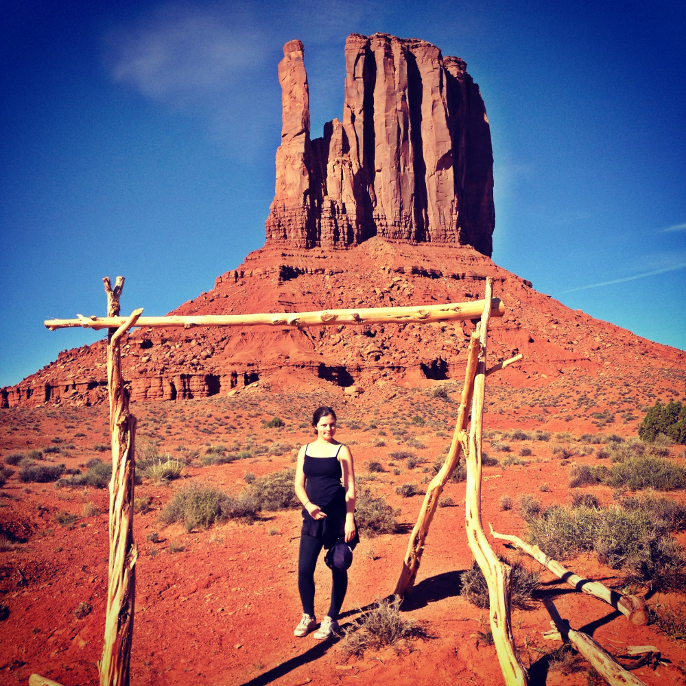 Hiking in Monument Valley Utah Double-Barrelled Travel