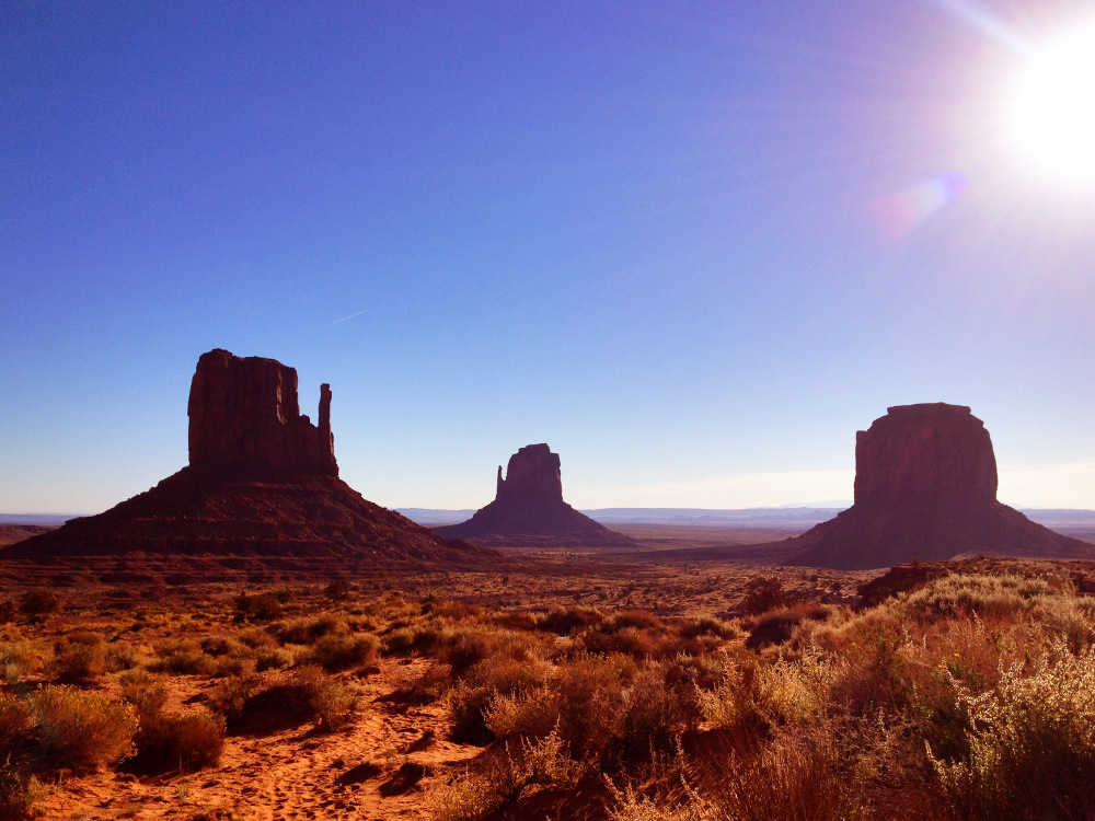 In Monument Valley Utah 3 Double-Barrelled Travel