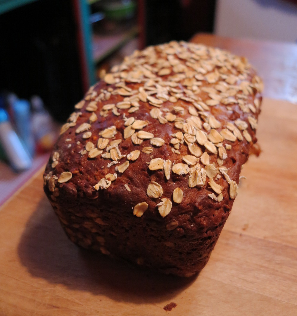 Loaf of bread baked by Patree Double-Barrelled Travel