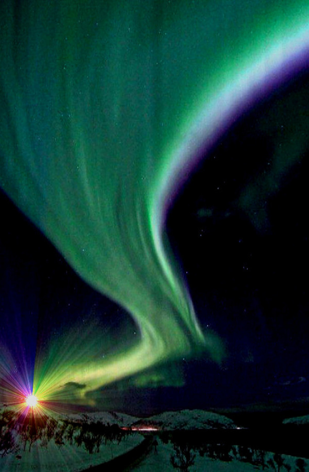 Northern Lights Double-Barrelled Travel