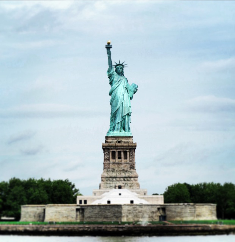 Statue of liberty in New York City  Double-Barrelled Travel