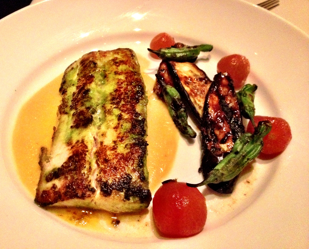 The Mahi Mahi fish at Roys Restaurant Double-Barrelled Travel