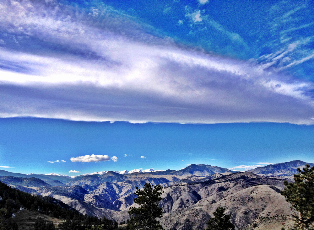 The view from Lookout Mountain in Colorado Double-Barrelled Travel