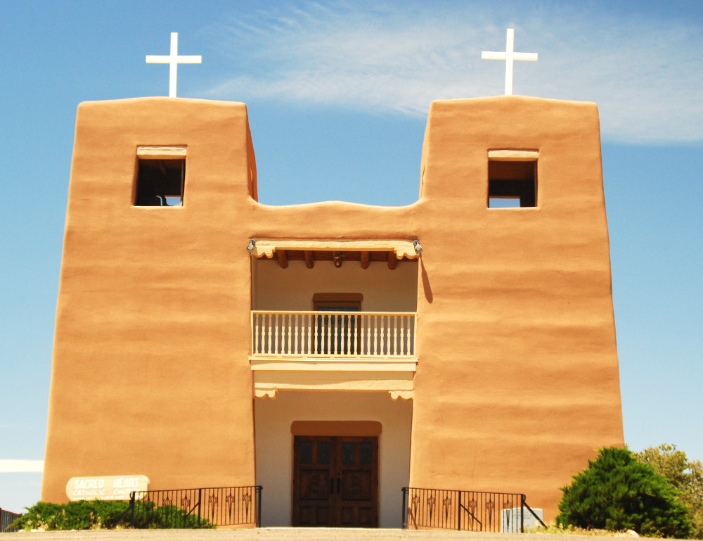 church in Santa Fe Double-Barrelled Travel