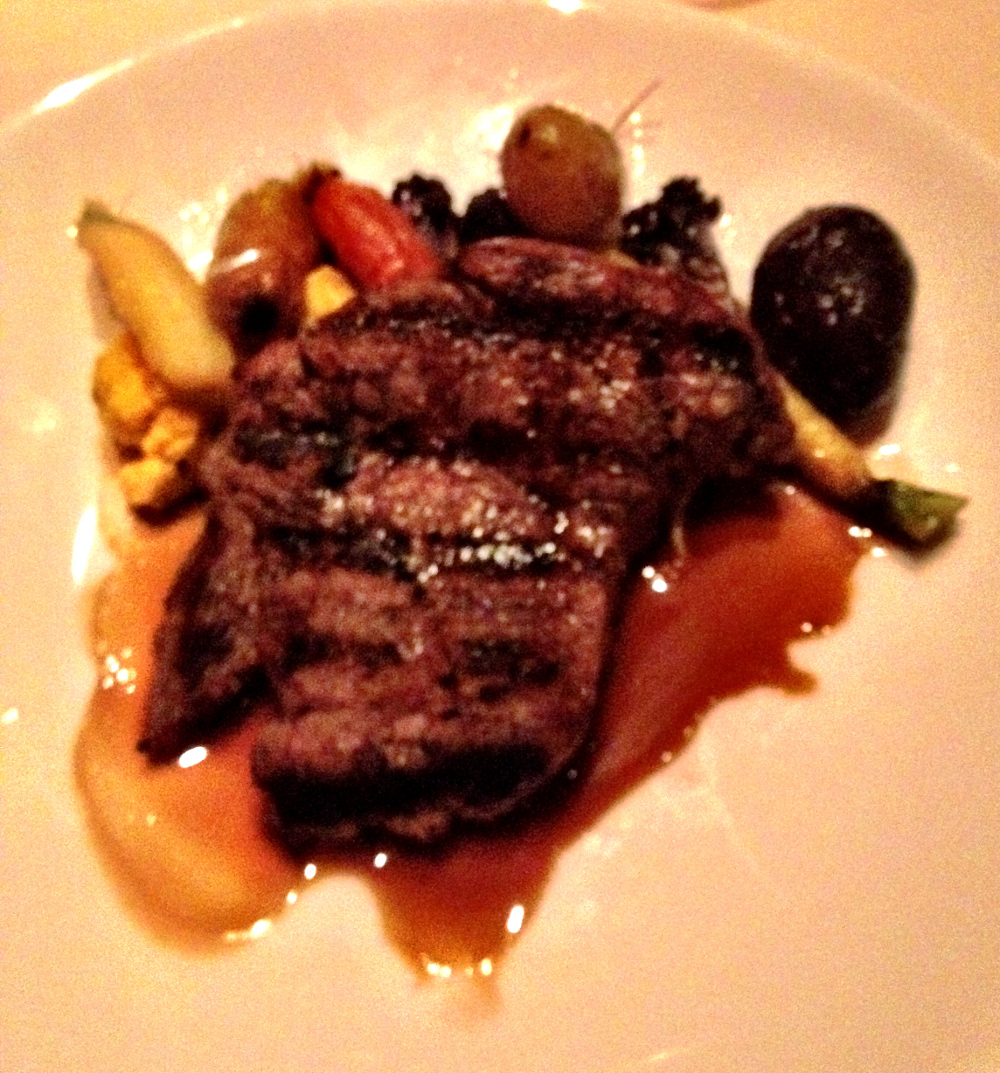 filet mignon at Roys Restaurant Double-Barrelled Travel