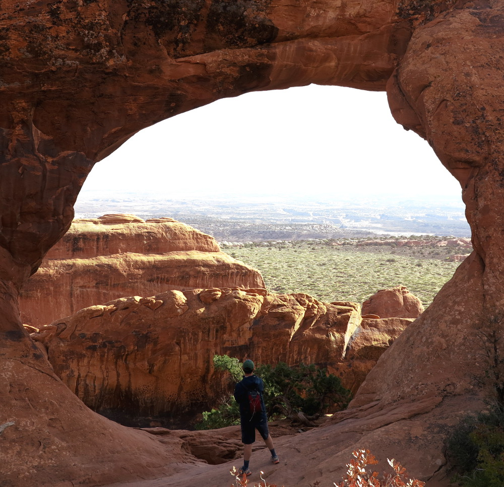 Arch at Arches National Park Double Barrelled Travel