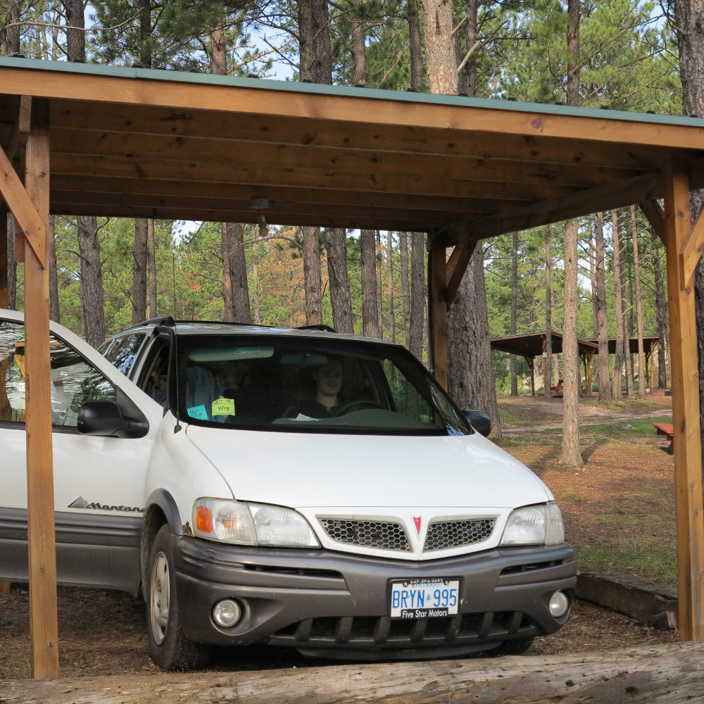 Camping near the Black Hills Double-Barrelled Travel