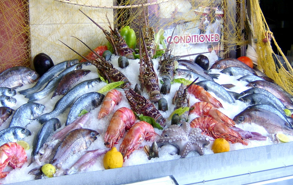 Crete seafood Double-Barrelled Travel