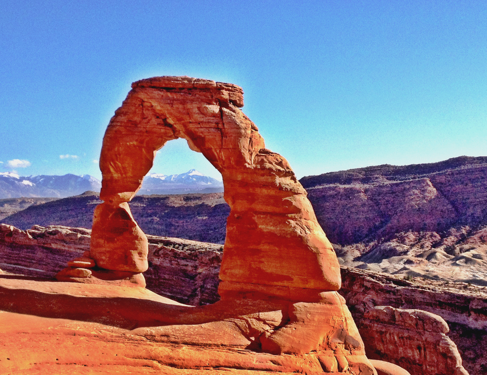 Delicate Arch at Arches National Park Double Barrelled Travel