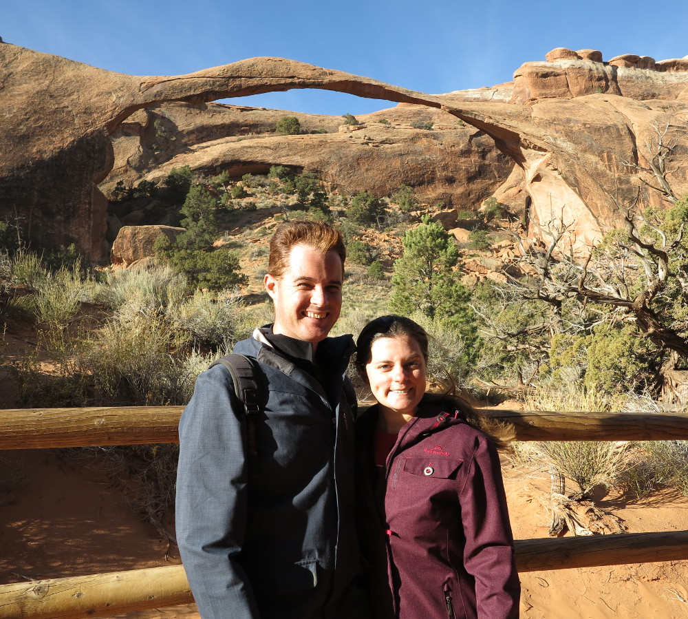 Landscape Arch in Arches National Park Double-Barrelled Travel