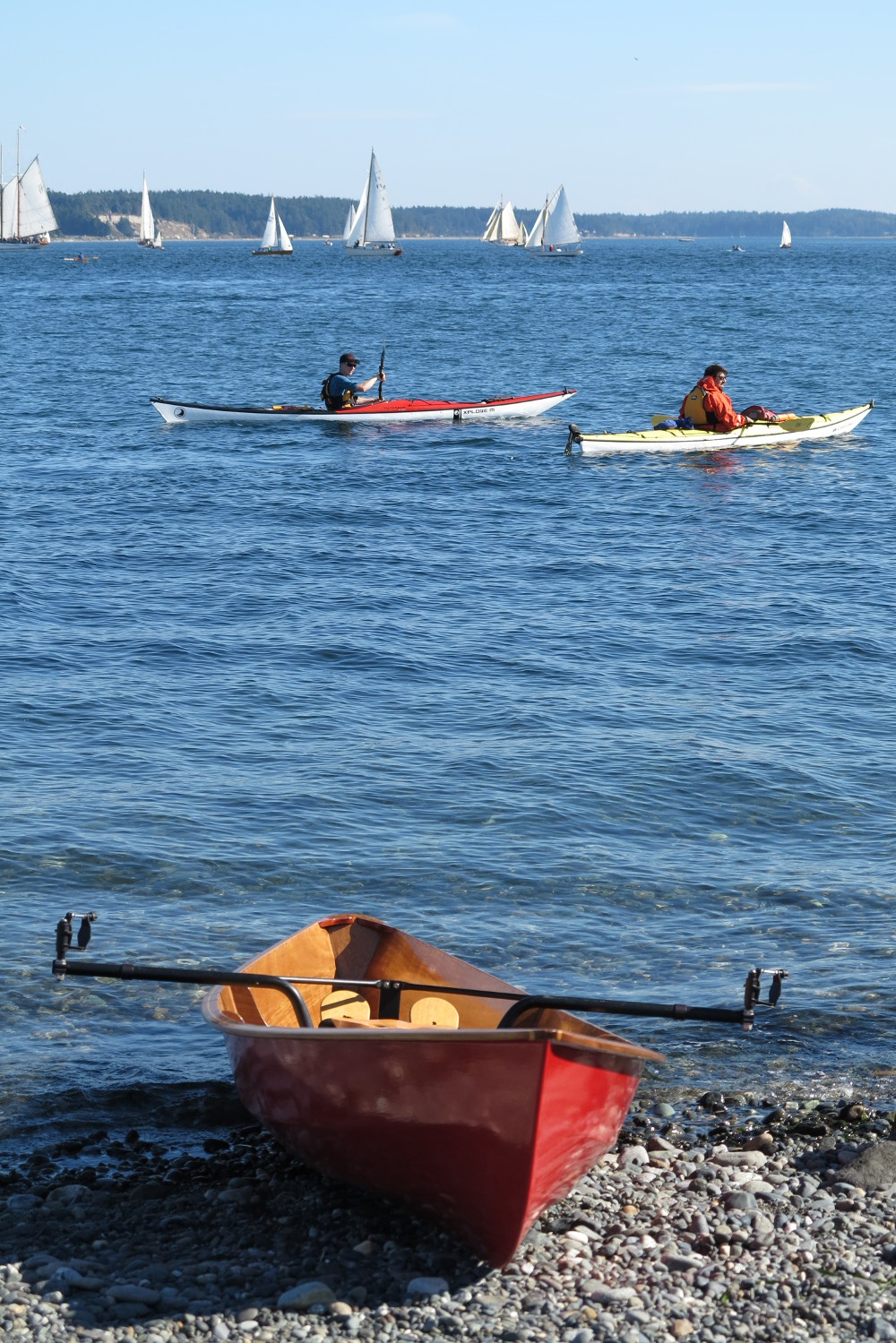 Port Townsend Wooden Boat Festival Double-Barrelled Travel