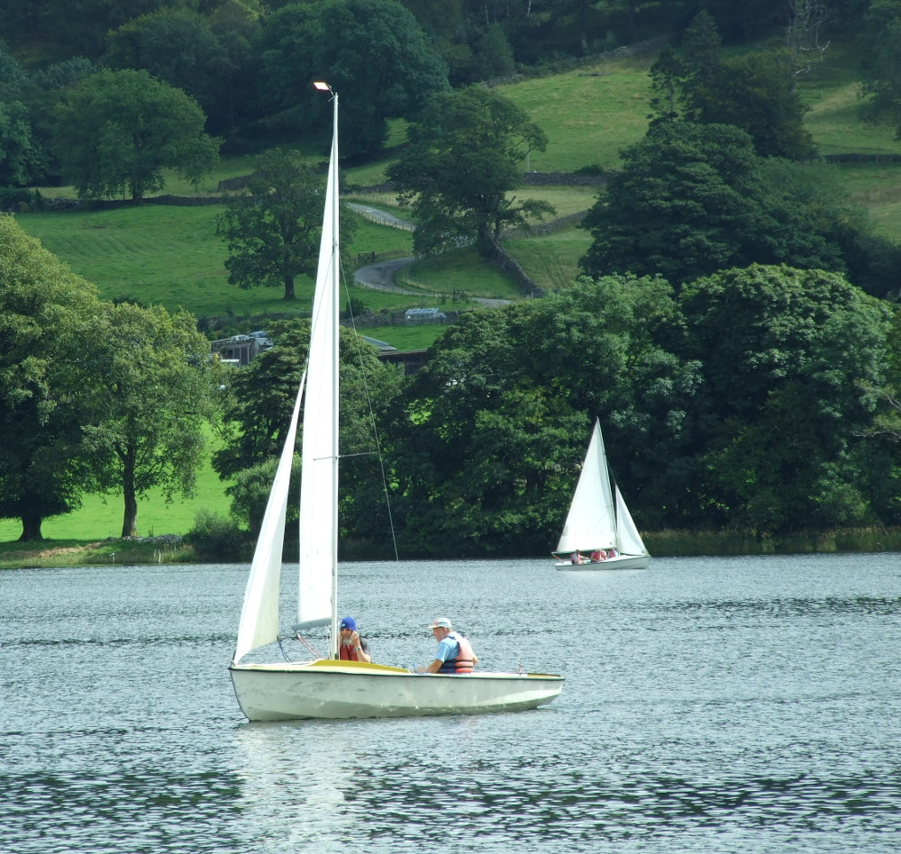 Sailing in the Lake District Double-Barrelled Travel