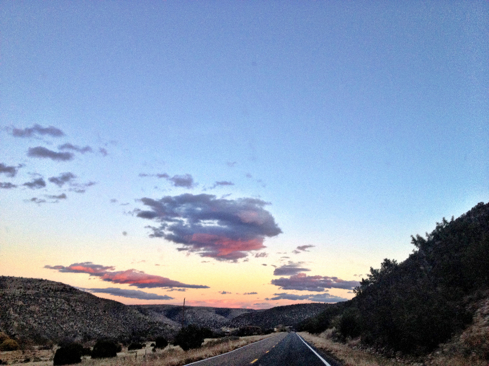 Sunset in New Mexico Double-Barrelled Travel