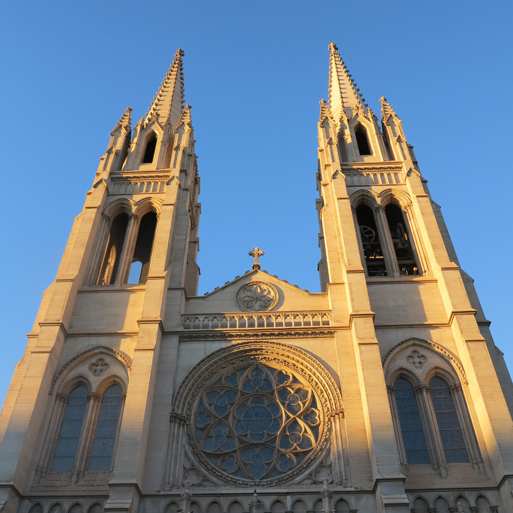 The Cathedral Basilica of the Immaculate Conception in Denver Double-Barrelled Travel
