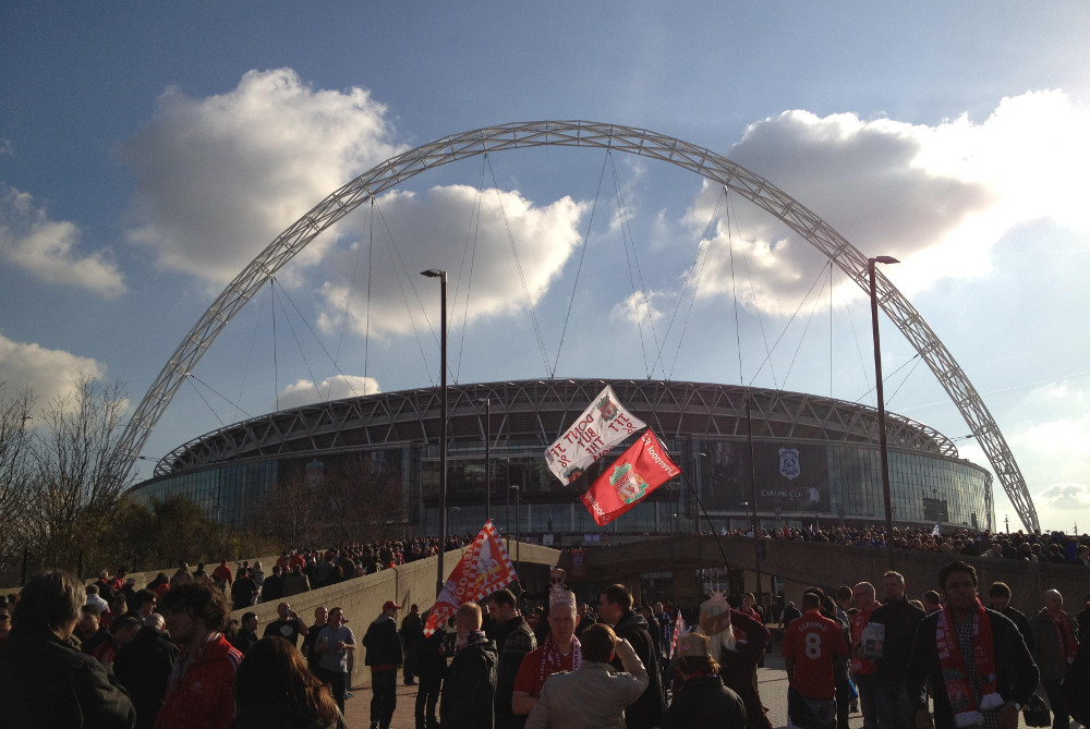 Wembley stadium in London Double-Barrelled Travel
