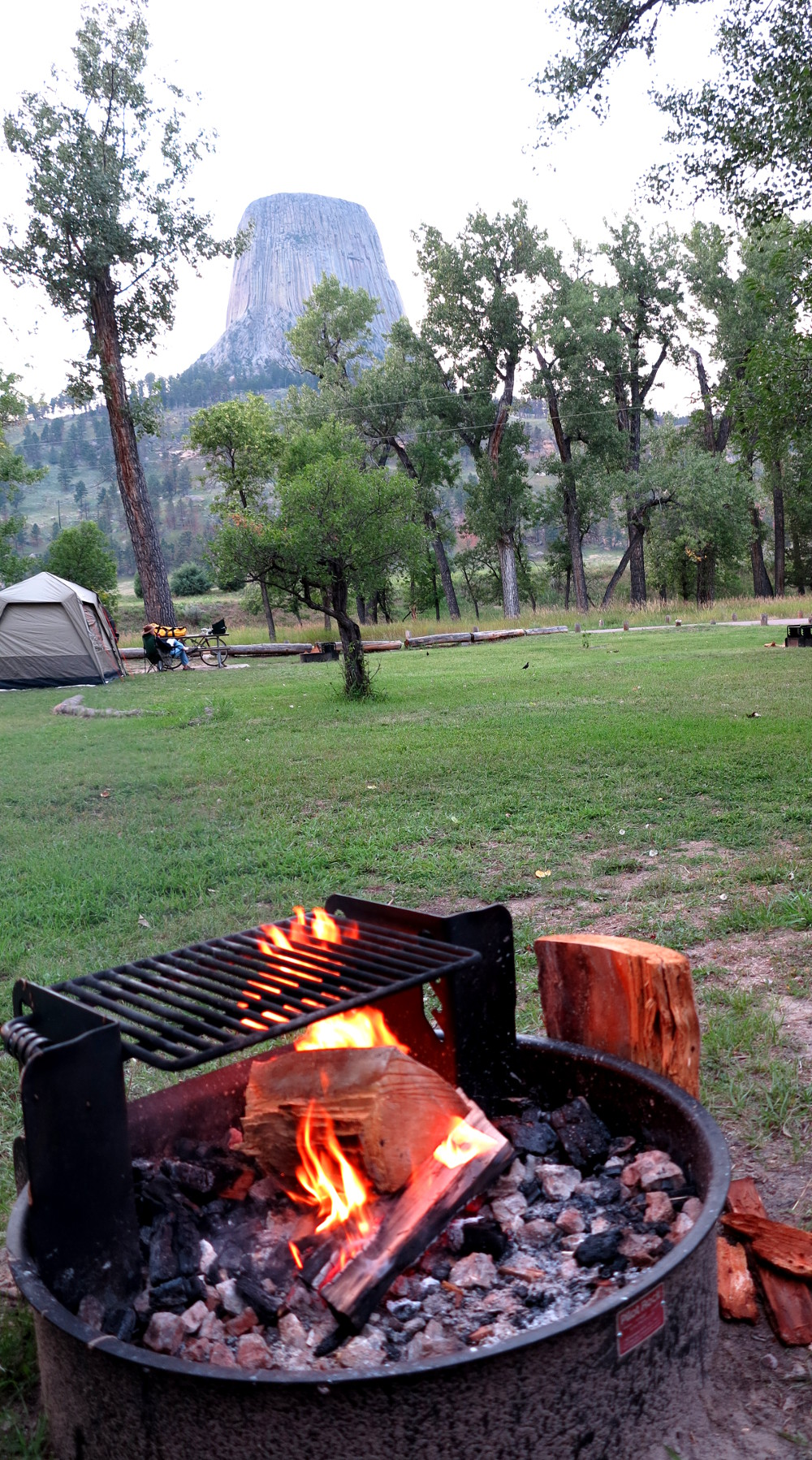 camping to save money Double-Barrelled Travel