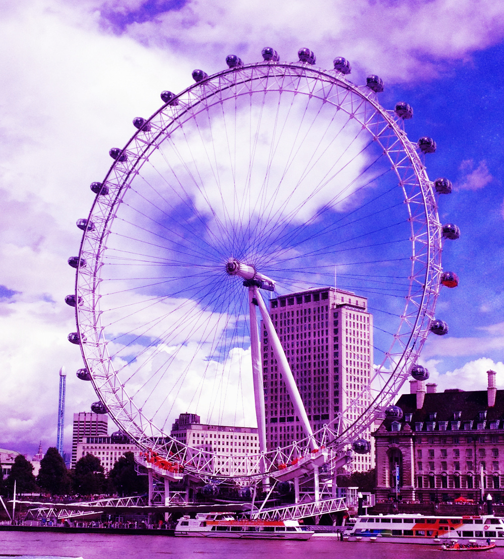 the London Eye Double-Barrelled Travel