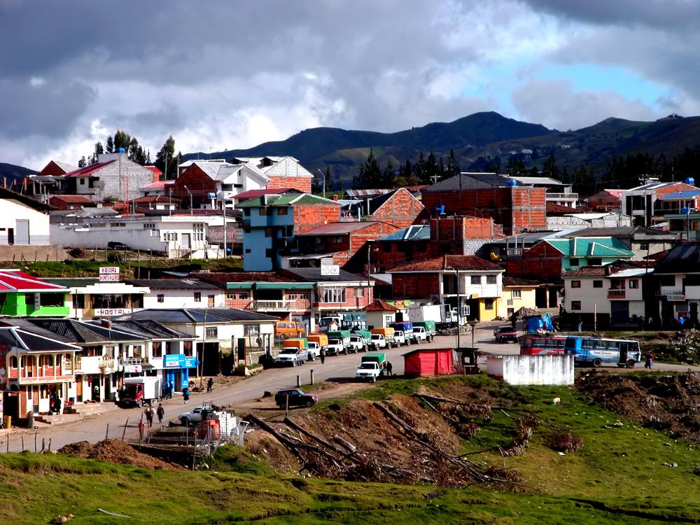 A village in Ecuador Double-barrelled Travel