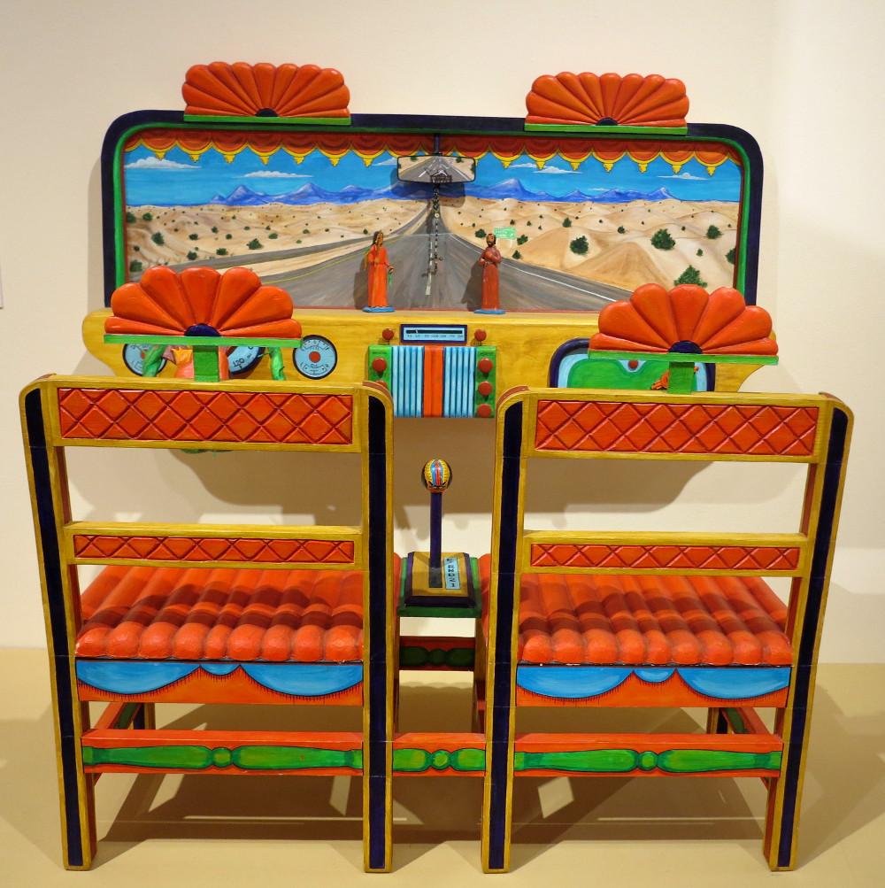 Art at the Santa Fe art museum Double-Barrelled Travel