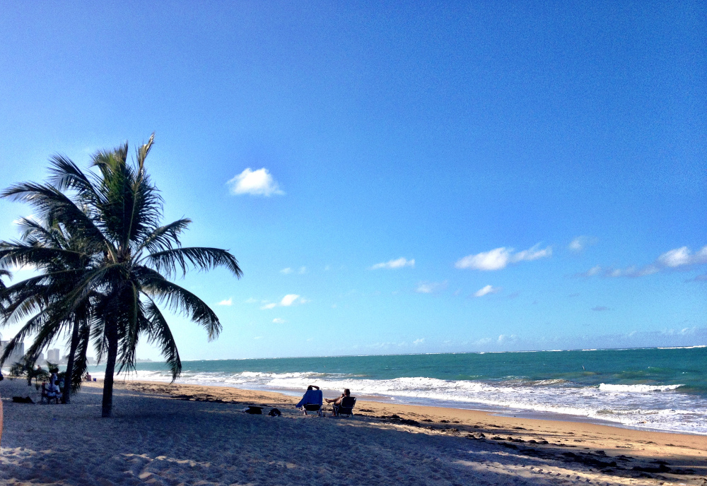 Beach in Puerto Rico Double-Barrelled Travel