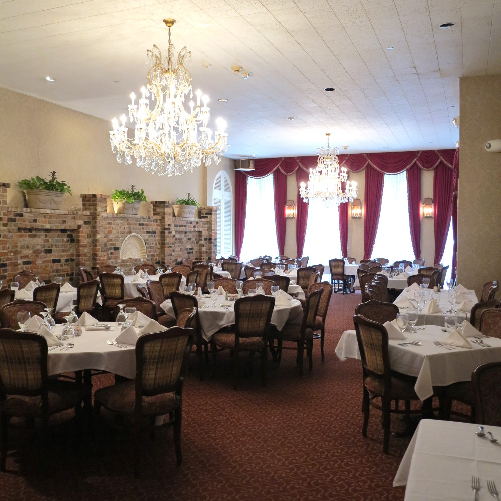Dining room at The Court of Two Sisters Double-Barrelled Travel