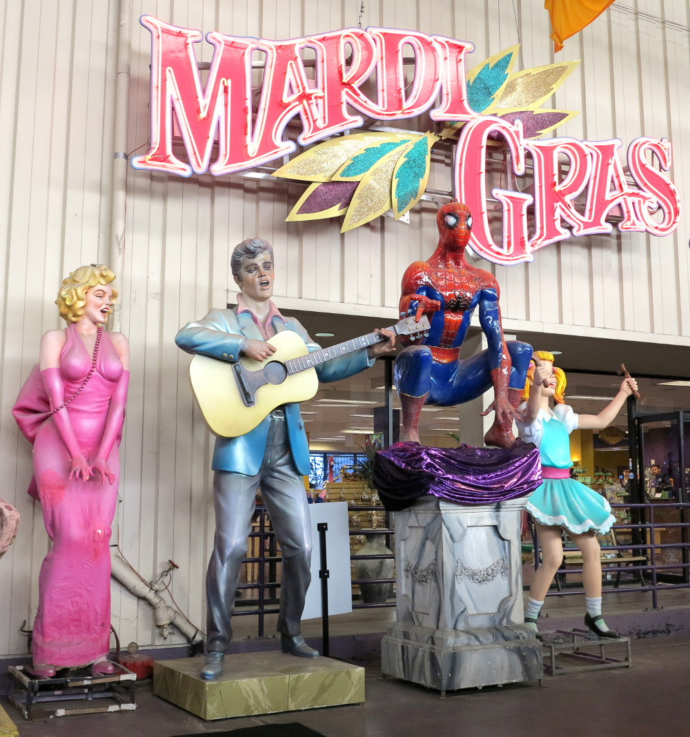 Entrance to Mardi Gras World New Orleans Double-Barrelled Travel