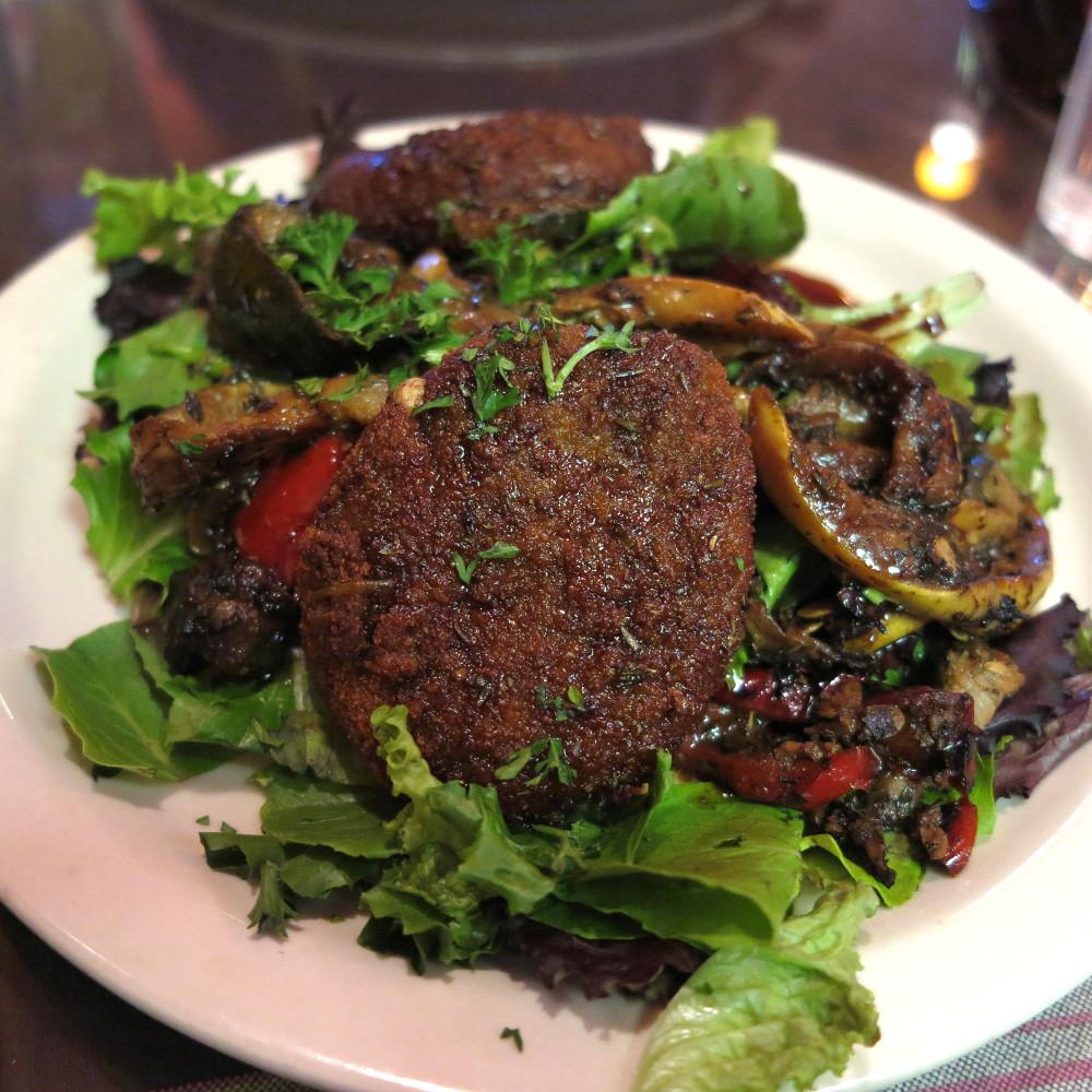Goats cheese salad Jamba Cafe Santa Fe Double-Barrelled Travel