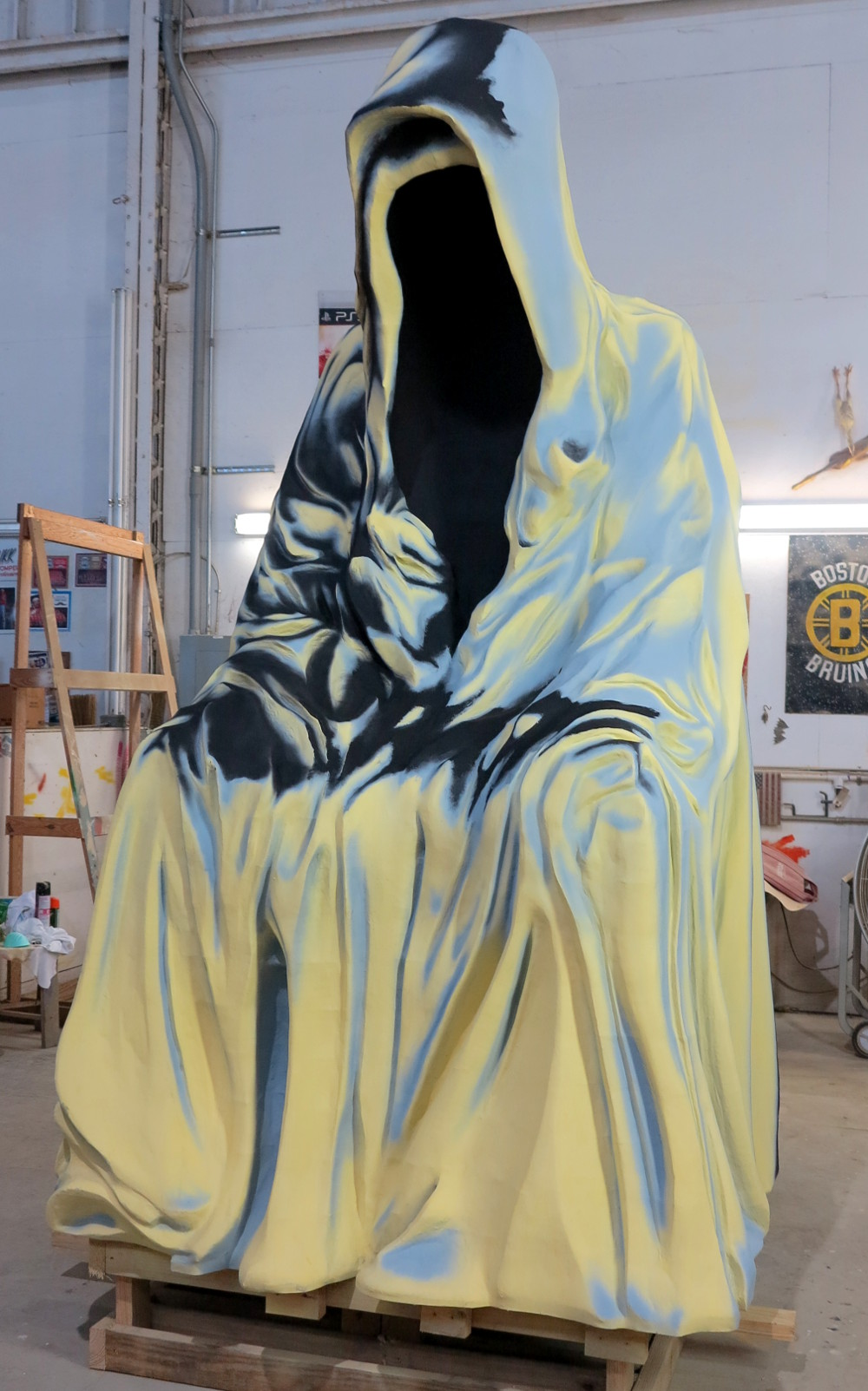 Grim reaper at Mardi Gras World New Orleans Double-Barrelled Travel