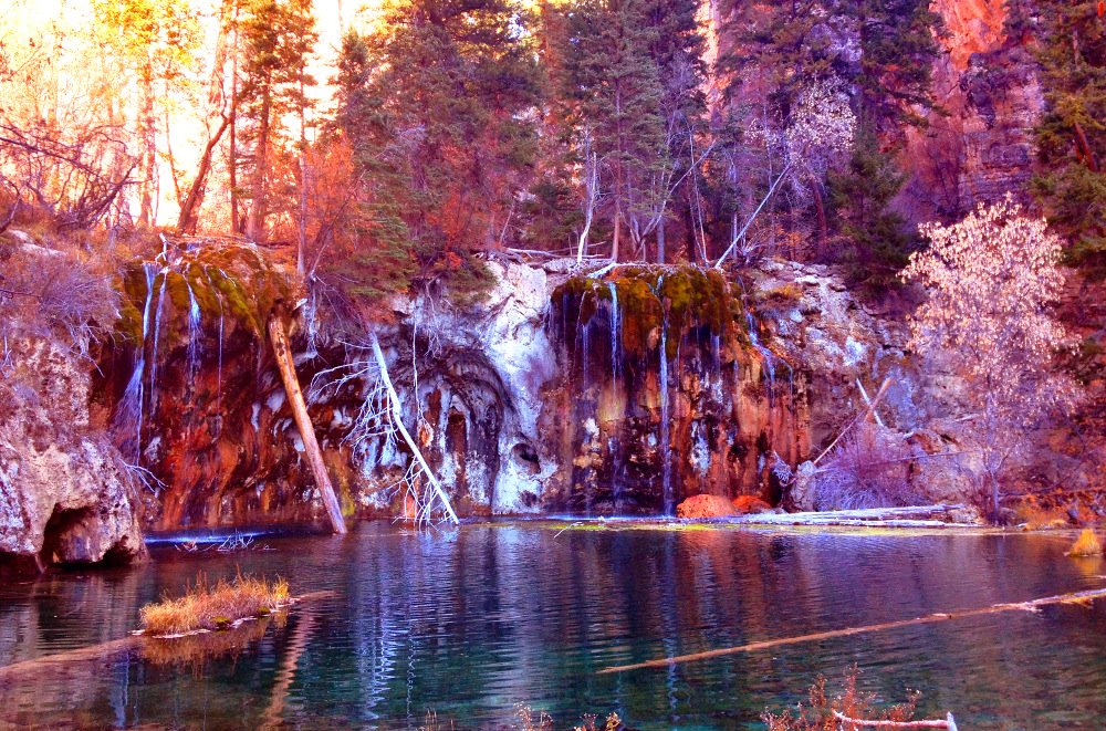 Hanging lake Double-Barrelled Travel