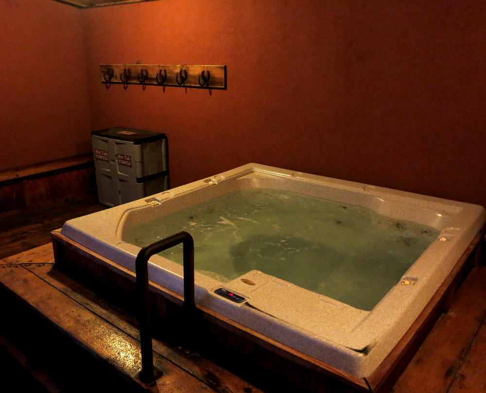 Jacuzzi at the Redstone Inn in Moab Double-Barrelled Travel