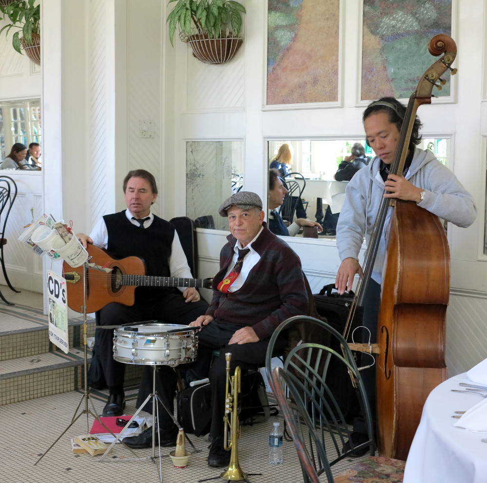 Jazz band at The Court of Two Sisters Double-Barrelled Travel