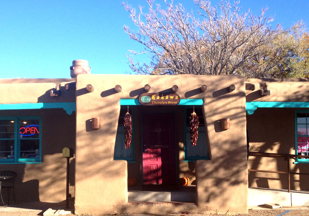 Kawaka chocolate cafe in Santa Fe Double-Barrelled Travel