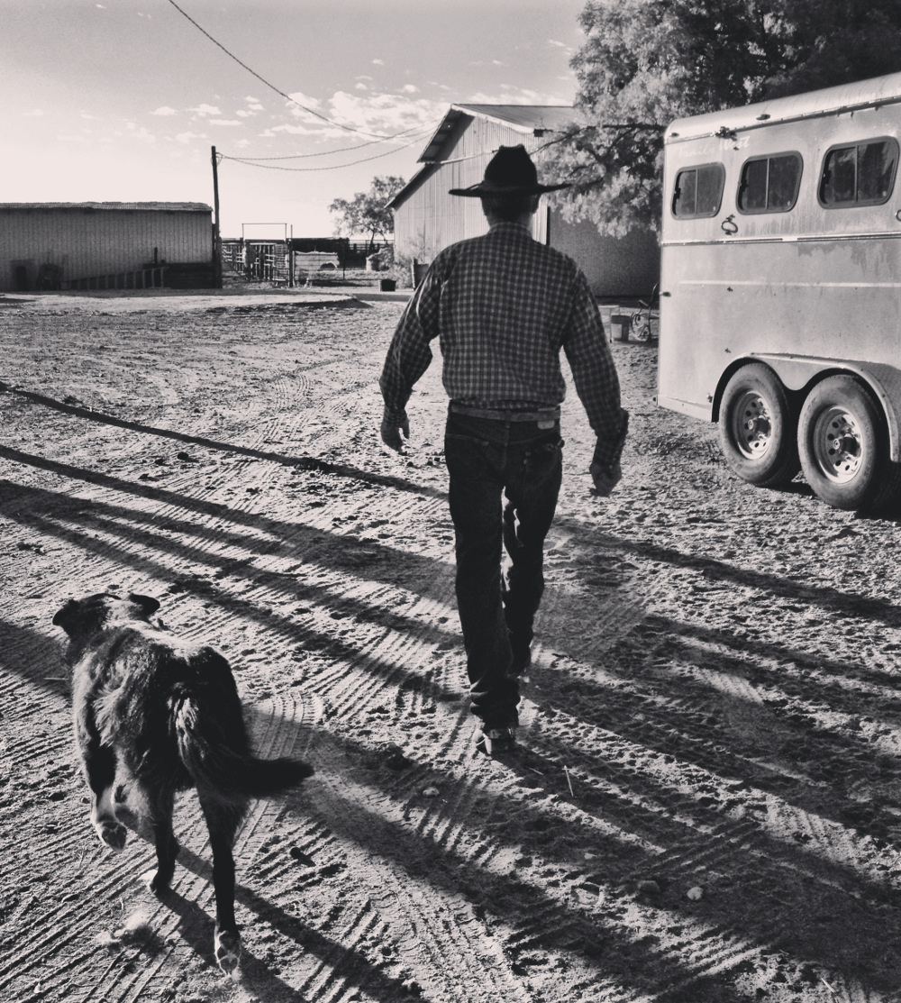 Ronnie on a Texas Ranch Double-Barrelled Travel