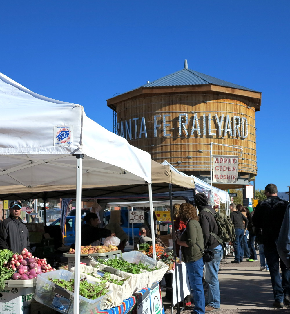 Santa Fe Railway Yard Market Double-Barrelled Travel