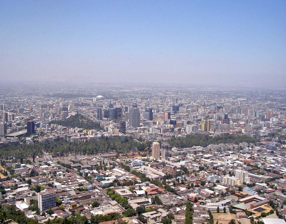 Santiago in Chile Double-barrelled Travel