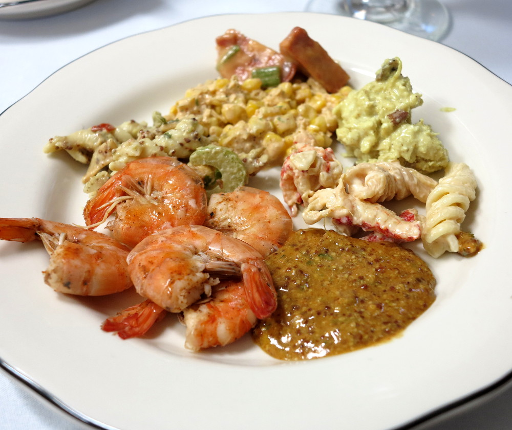 Seafood at The Court of Two Sisters Double-Barrelled Travel