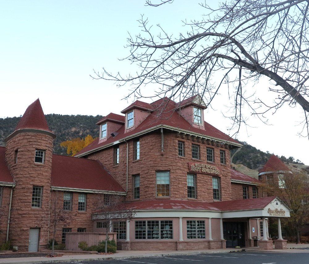 Spa of the Rockies Glenwood Hot Springs Double-Barrelled Travel