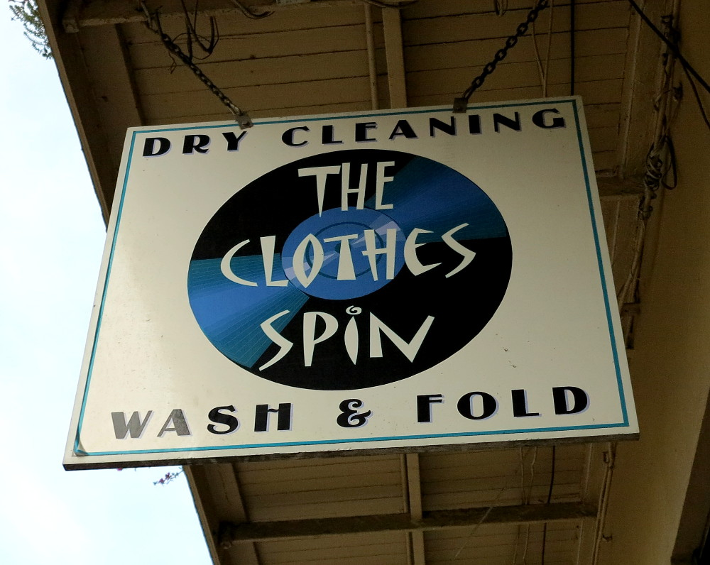 The famous clothes spin in New Orleans Double-Barrelled Travel
