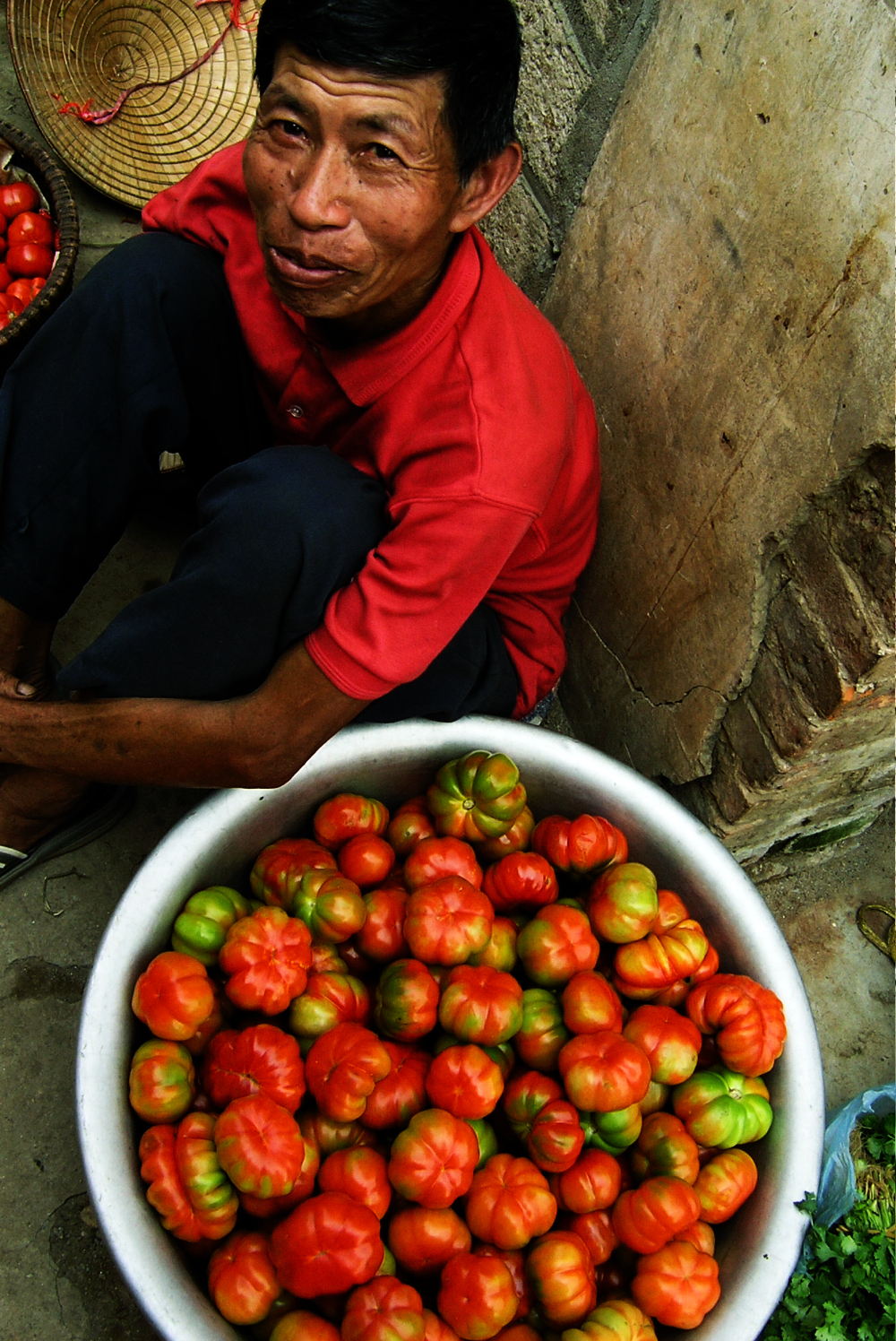 Vietnam with tomatoes Double-Barrelled Travel